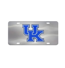 Fanmats LICENSE PLATE, STAINLESS STEEL, UK
