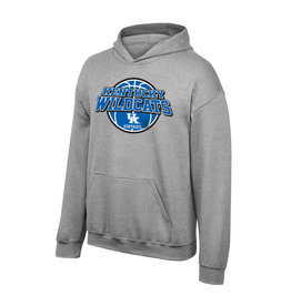 Top of the World HOODY, YOUTH, FLEECE, BBN, GRAY, UK