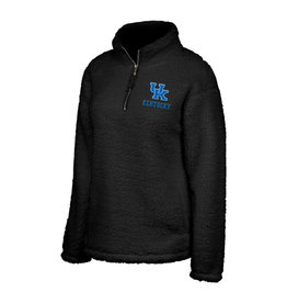 Top of the World SHERPA, LADIES, 1/2 ZIP, BLACK, UK