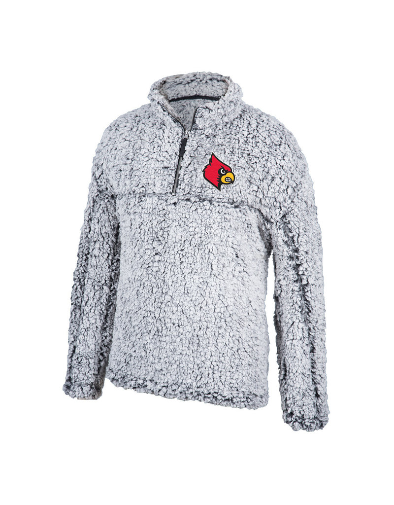 Top of the World PULLOVER, 1/2 ZIP, SHERPA, MARBLE, UL