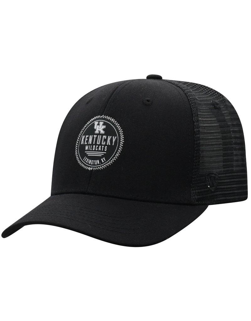 Top of the World HAT, ADJUSTABLE, ZIGZAG, BLACK, UK