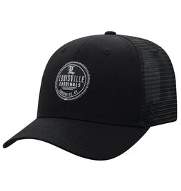 Top of the World HAT, ADJUSTABLE, ZIGZAG, BLACK, UL