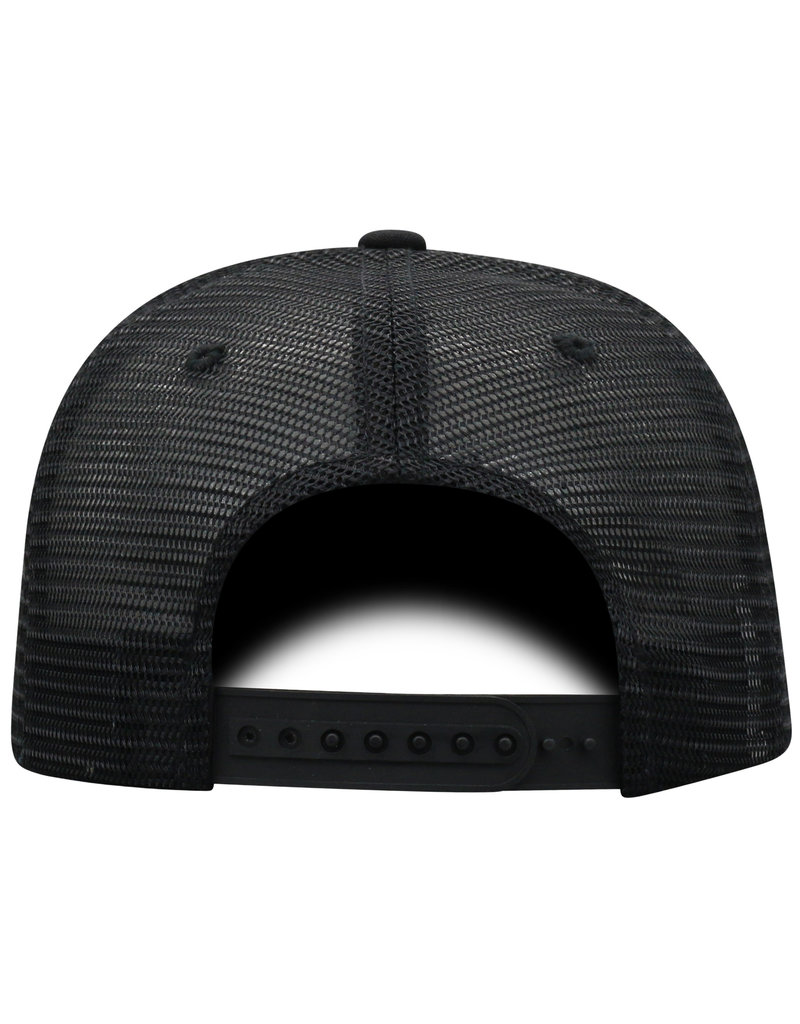 Top of the World HAT, ADJUSTABLE, ZIGZAG, BLACK, UL
