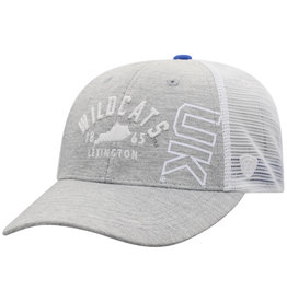 Top of the World HAT, ADJUSTABLE, DORM, GRAY/WHT, UK