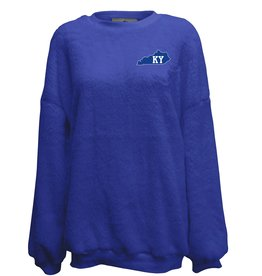 SUMMIT SPORTSWEAR CREW, LADIES, DOUBLE PLUSH, DROP, ROYAL, UK