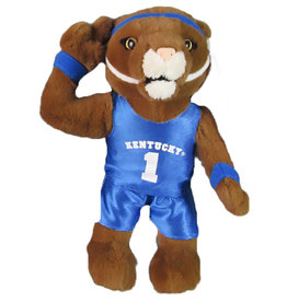 WILDCAT, MASCOT, PLUSH, 8 IN, UK
