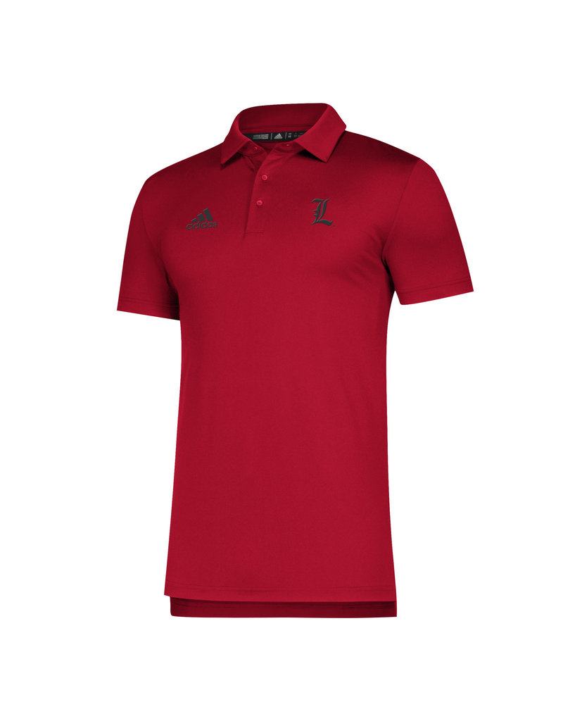 Adidas Sports Licensed POLO, ADIDAS, SIDELINE, RED, UL