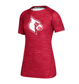Adidas Sports Licensed TEE, LADIES, SS, ADIDAS, GAME MODE, RED, UL