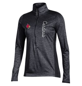 Champion Products PULLOVER, LADIES, 1/4 ZIP, MARATHON, BLACK, UL