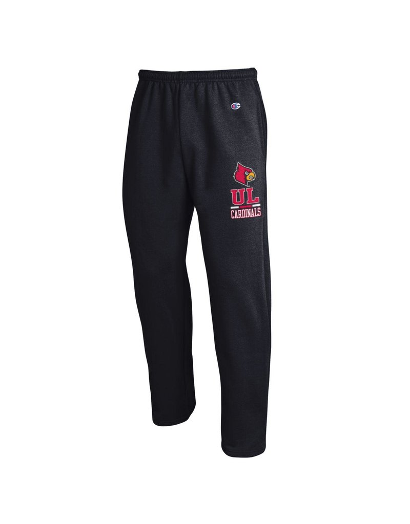 Champion Products PANT, POWERBLEND, OPEN BOTTOM, BLACK, UL