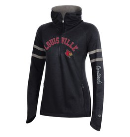 Champion Products HOODY, LADIES, MTO, COWL, RED/BLK, UL