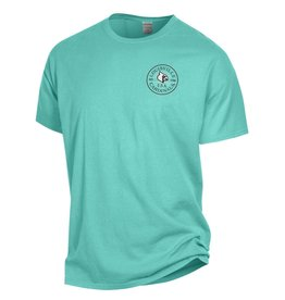 Champion Products TEE, LADIES, COMFY COLOR, MINT, UL