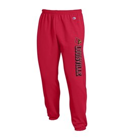 Champion Products PANT, POWERBLEND, CLOSED BOTTOM, RED, UL