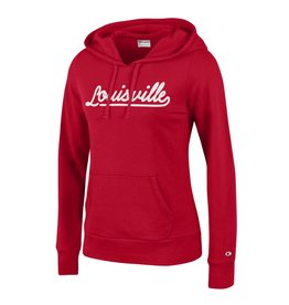 Champion Products HOODY, LADIES, UNIVERSITY, RED, UL-C