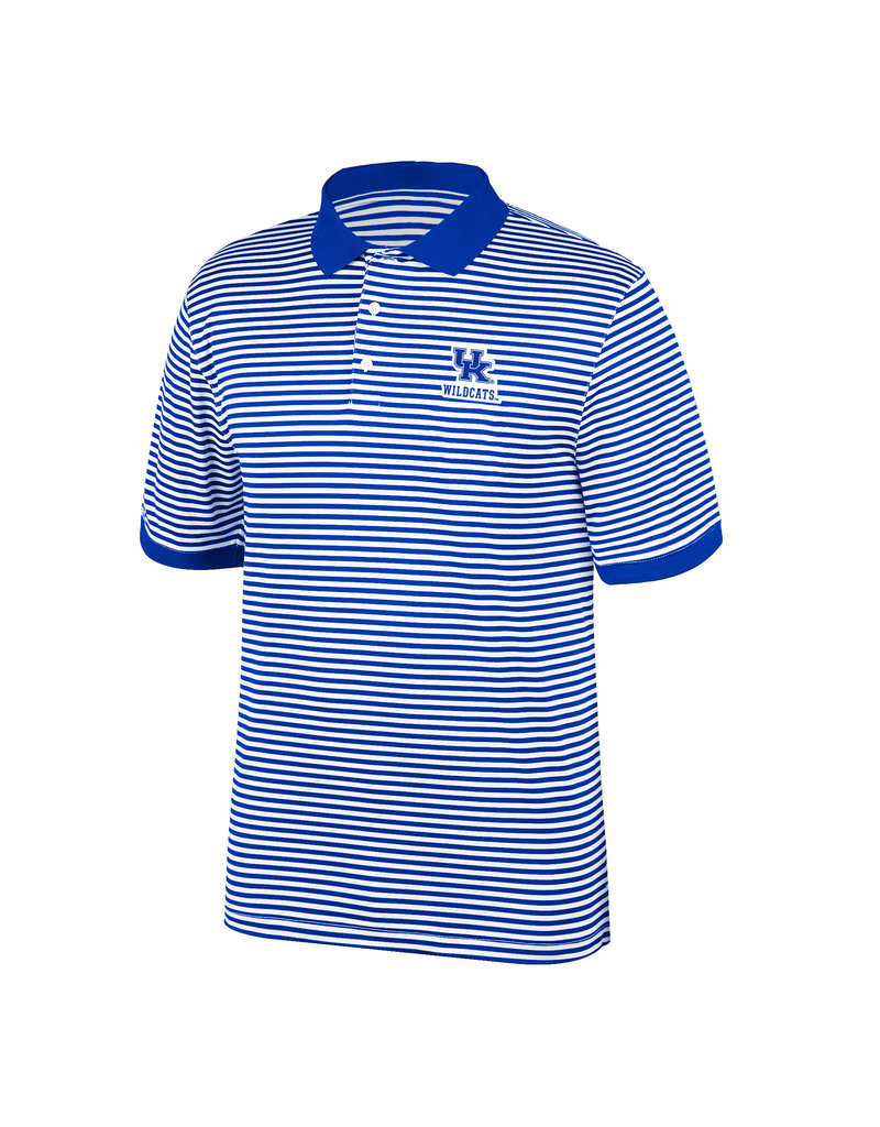 Top of the World POLO, STRIPED, ROYAL, UK