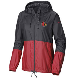 JACKET, LADIES, FLASH FORWARD, BLK/RED, UL