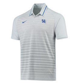 Nike Team Sports POLO, NIKE, STRIPED, GRAY, UK