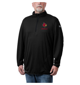 MTC Marketing PULLOVER, 1/4 ZIP, FLOW, BLACK, UL