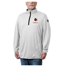MTC Marketing PULLOVER, 1/4 ZIP, FLOW, WHITE, UL