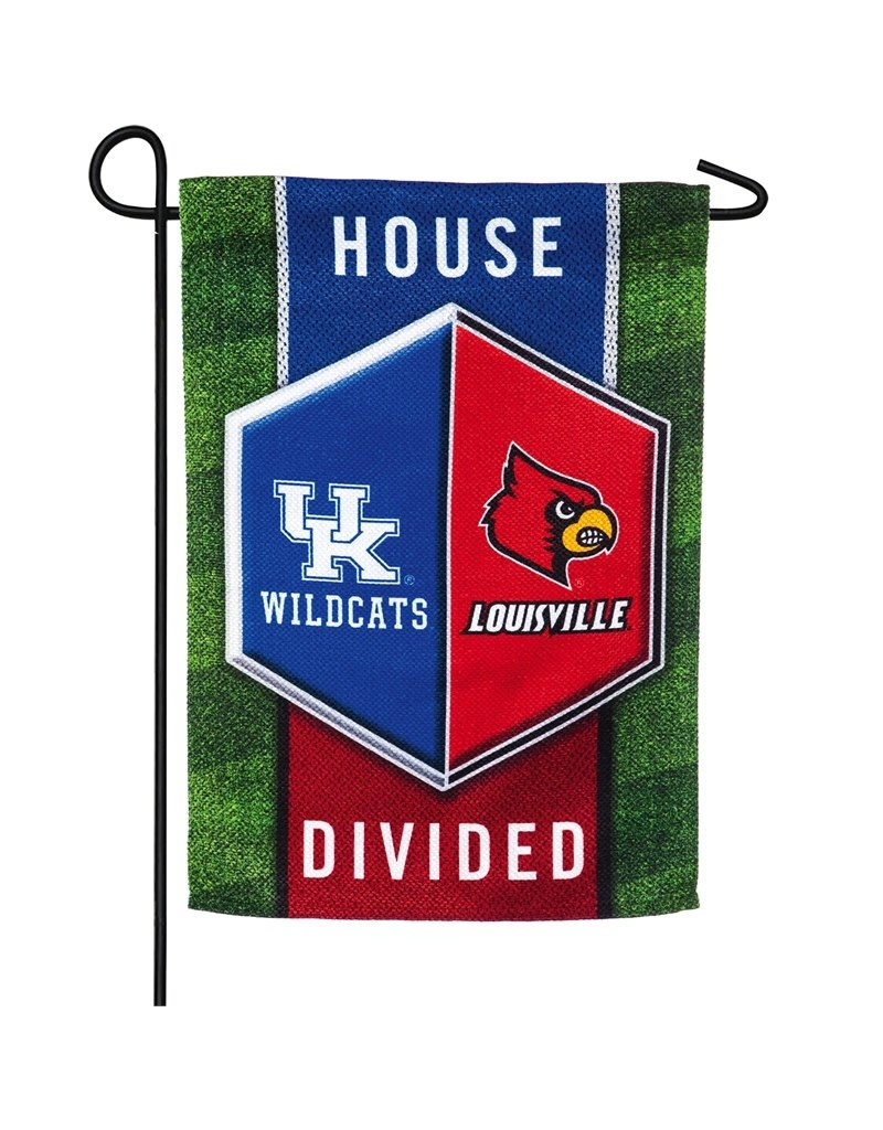 FLAG, GARDEN, HOUSE DIVIDED, UK/UL