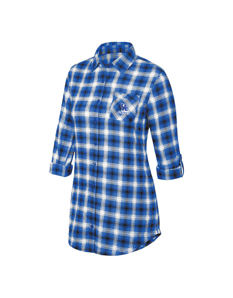 Top of the World SHIRT, LADIES, SLEEP, ROYAL, UK
