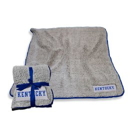 LOGO BRANDS BLANKET, FROSTY FLEECE, SHERPA, 50x60, UK
