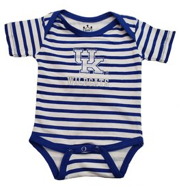 Little King ROMPER, DIAPER, STRIPED, ROY/WHT, UK