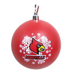 ORNAMENT, SHATTERPROOF, LARGE, RED, UL