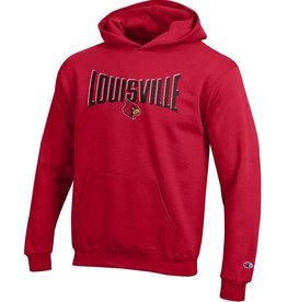 Champion Products HOODY, YOUTH, POWER, RED, UL