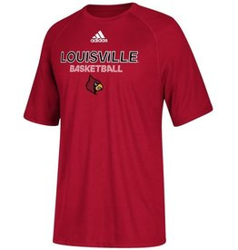 Adidas Sports Licensed TEE, YOUTH, SS, ADIDAS, SIDELINE BBALL, RED, UL