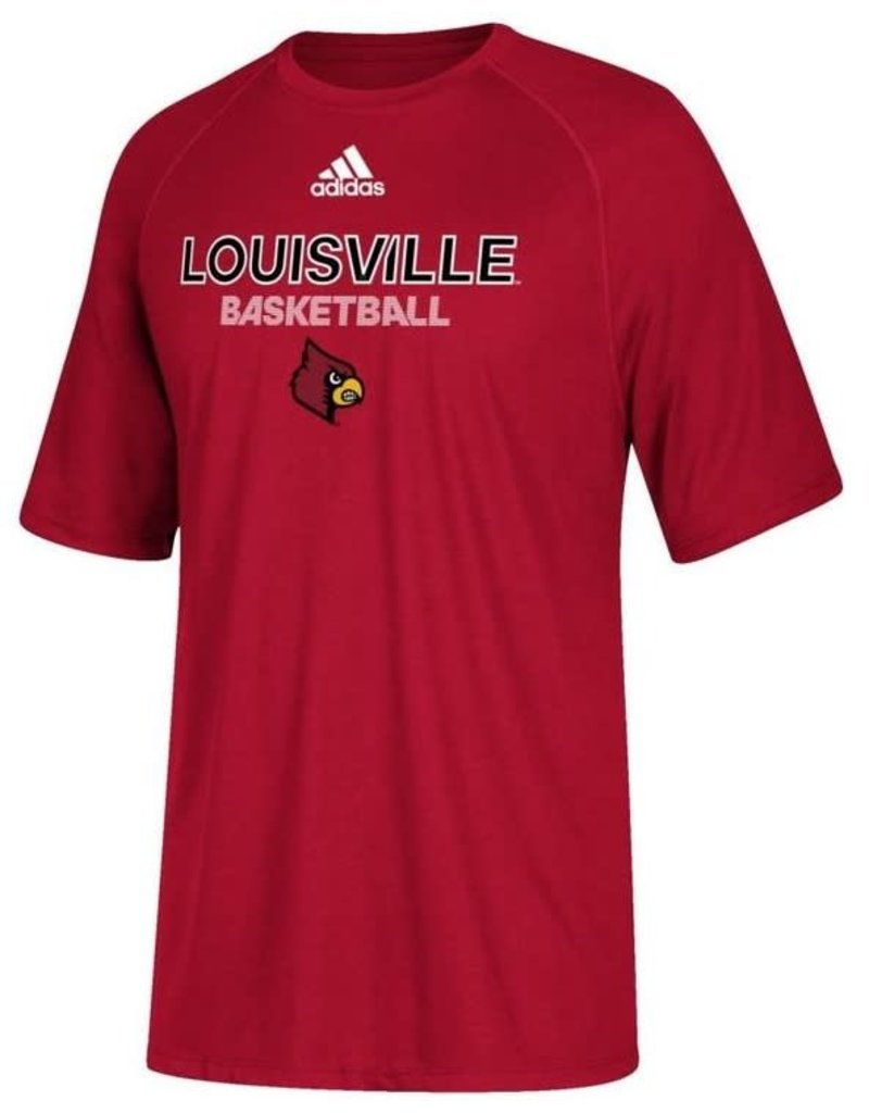 Adidas Sports Licensed TEE, YOUTH, SS, ADIDAS, SIDELINE BBALL, RED, UL-C