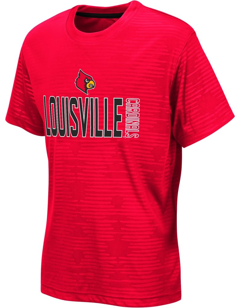 Colosseum Athletics TEE, YOUTH, SS, LARRY, RED, UL