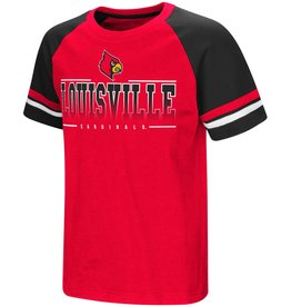 Colosseum Athletics TEE, YOUTH, SS, RAD TAD, RED/BLK, UL