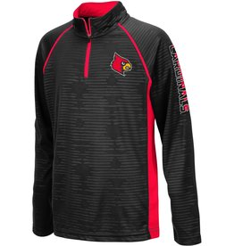 Colosseum Athletics PULLOVER, YOUTH, 1/4 ZIP, MIMI, BLACK, UL
