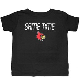 Little King TEE, INFANT/TODDLER, SS, GAME TIME, BLACK, UL