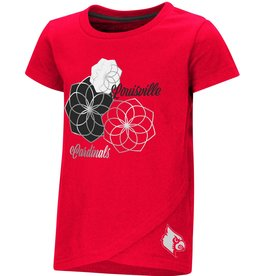 Colosseum Athletics TEE, TODDLER, SS, WHOO WHOO, RED, UL