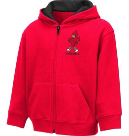 Colosseum Athletics JACKET, TODDLER, FZ, SCHNAPSIE, RED, UL