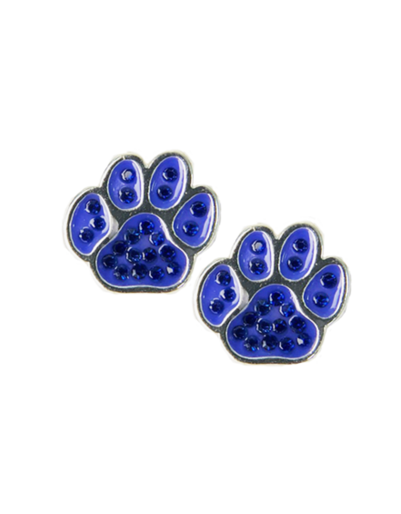 EARRINGS, PAWS, SILVER, UK