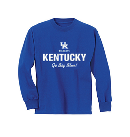 Little King TEE, TODDLER, LS, GO BIG BLUE, UK