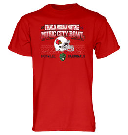 BLUE 84 TEE, SS, MUSIC CITY BOWL, RED, UL-C