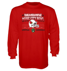 BLUE 84 TEE, LS, MUSIC CITY BOWL, RED, UL-C