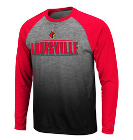 Colosseum Athletics TEE, LS, SUBLIMATED, SITWELL, GREY/RED, UL
