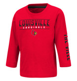 Colosseum Athletics TEE, TODDLER, BOYS, LS, FLACKLESS, RED, UL