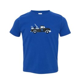 Little King TEE, INFANT/TODDLER, SS, TRUCK, ROYAL, UK