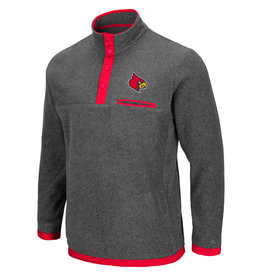 Colosseum Athletics PULLOVER, 1/4 ZIP, CARTER, CHARCOAL, UL