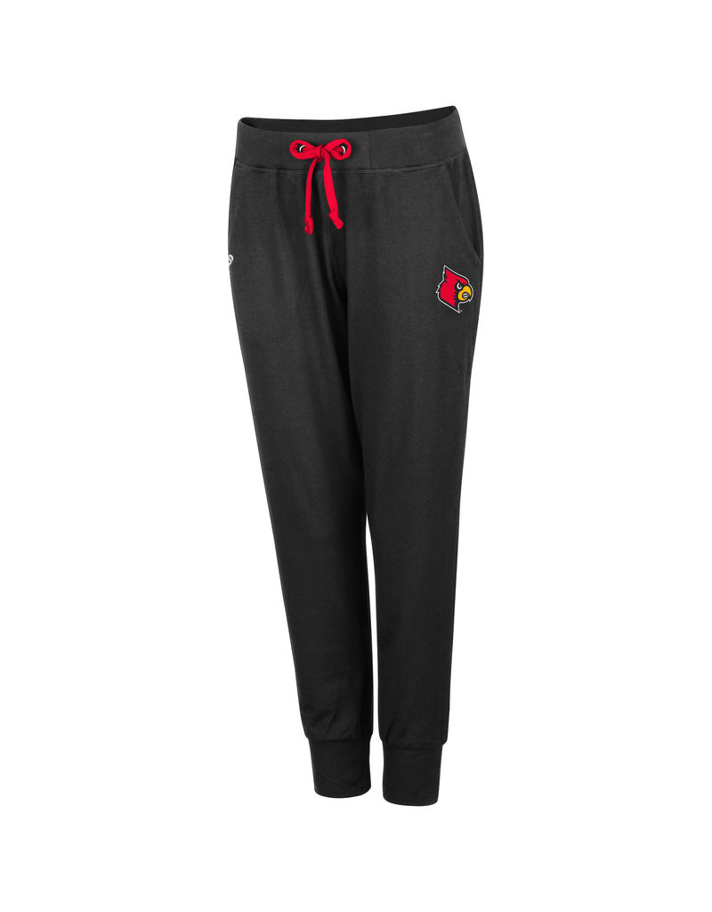 Colosseum Athletics PANT, LADIES, JOGGER, COUNTRY CLUB, BLK, UL