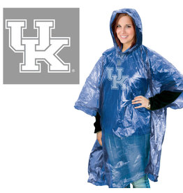 Wincraft Inc RAIN PONCHO, ROYAL/CLEAR, UK