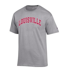 Champion Products TEE, SS, ARCH, LOUISVILLE, GRAY, UL