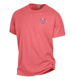 Champion Products TEE, LADIES, COMFY COLOR, CORAL, UL