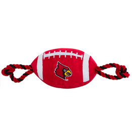Pets First Co DOG TOY, FBALL ROPE, UL